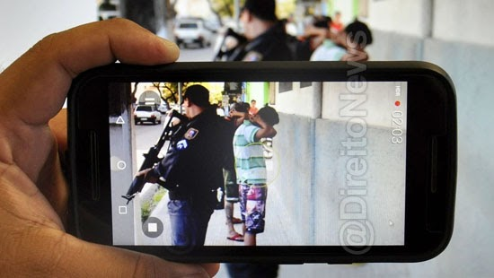 cidadao filmar seguranca abordagem policial direito